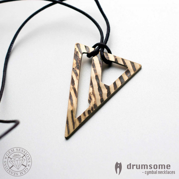 "Necklace ""VALERO"" made of drum cymbals (Drumsome 