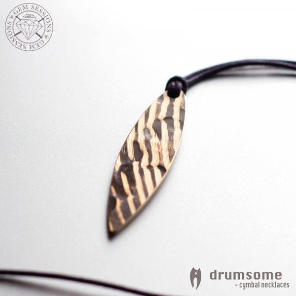 "Necklace ""SURFO"" made of drum cymbals (Drumsome 